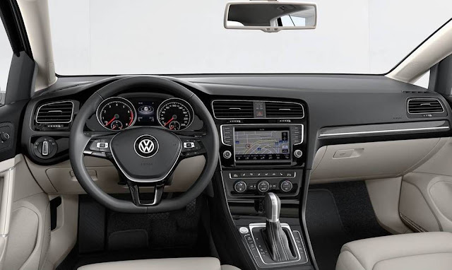 VW Golf 1.4 TSI Flex Automático - interior