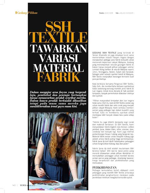 Pemborong Kain dari Korea, Wholesaler Textile