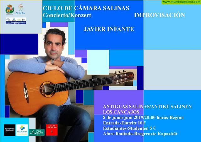 SALINAS: Recital de guitarra de Javier Infante