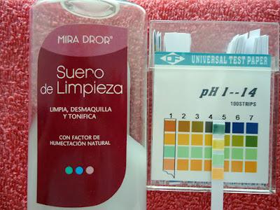 pH de Suero de limpieza de Mira Dror