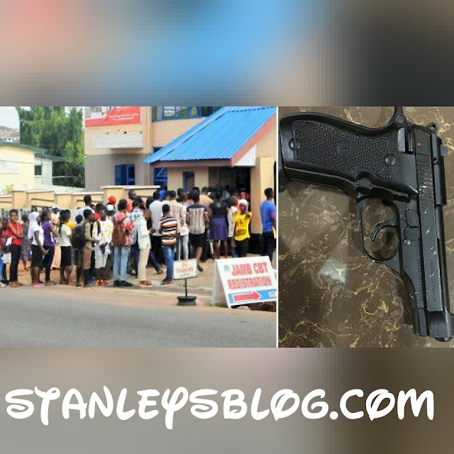 Jamb candidate caught with a gun
