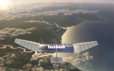 إطلاق طائرة الفيسبوك لتوصيل الأنترنت للعالم