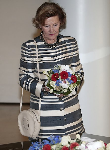 King Harald and Queen Sonja, Finland's President Sauli Niinistö and his wife Jenni Haukio in Helsinki
