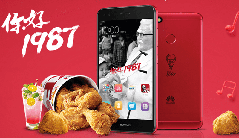 Huawei Launches Special Edition KFC Phone In China