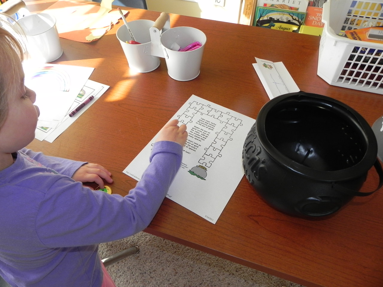 Lessons With My Little Ones St Patrick S Day