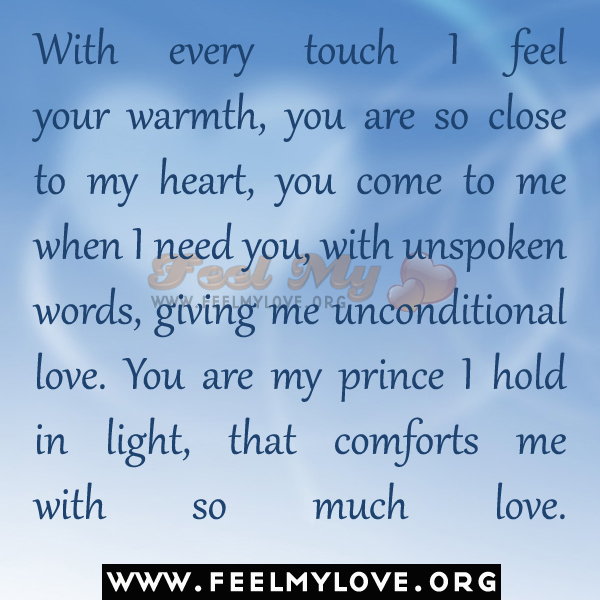 I Want You To Feel Loved Quotes: Feel My Love Quotes. QuotesGram