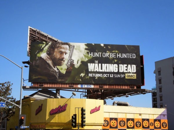 The Walking Dead season 5 billboard