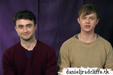 Daniel Radcliffe and Dane DeHaan introduce the #KYDcutUP Twitter competition