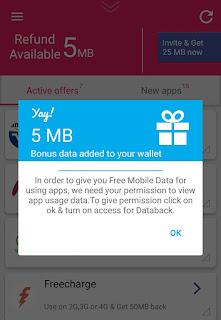 databack app free data
