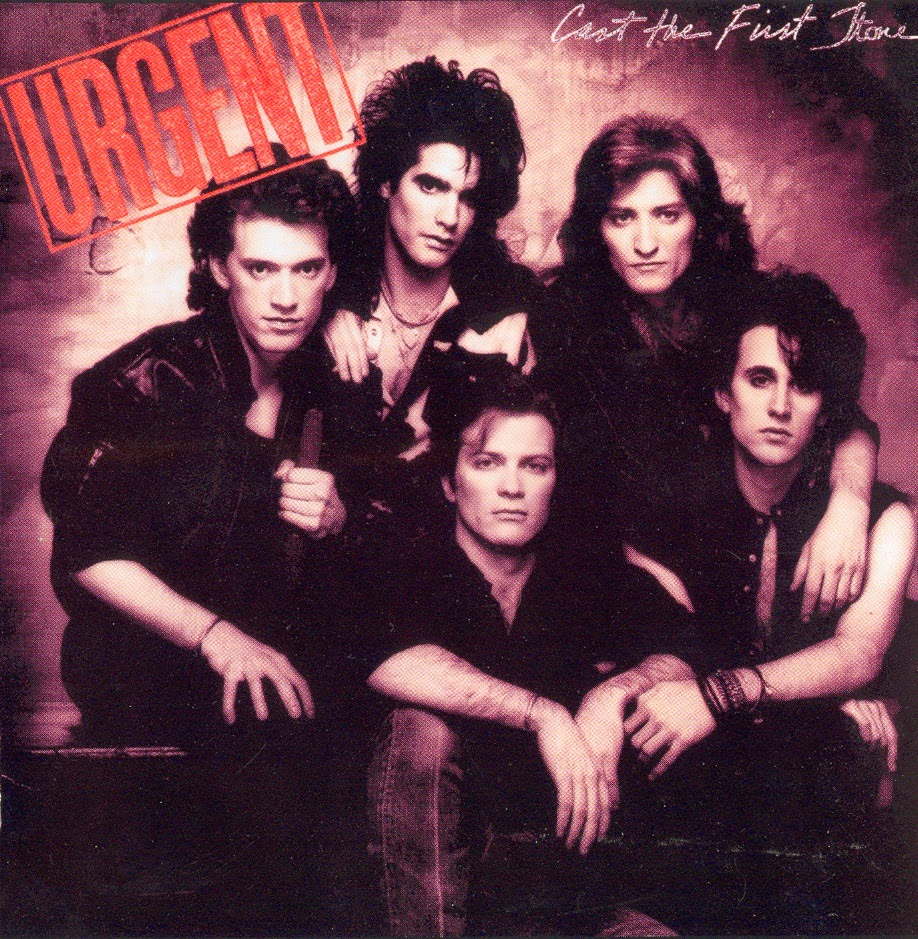 Urgent Cast the first stone 1984 aor melodic rock