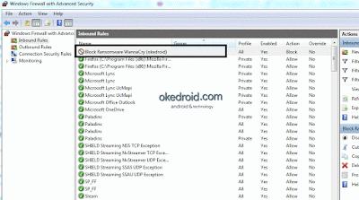 yang menyerang para pengguna Komputer di seluruh penjuru dunia  5 Tips Cara Mencegah Virus Ransomware(WannaCry) di OS Windows 7