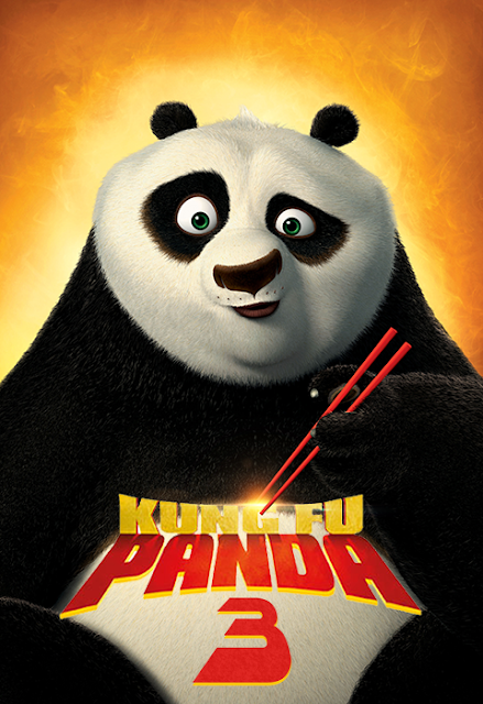 Poster Kung Fu Panda 3 - Fan Made