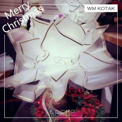 Kertas Buket Bunga / Flower Bouquet Wrapping Paper (Seri WM-044 / WM Kotak)