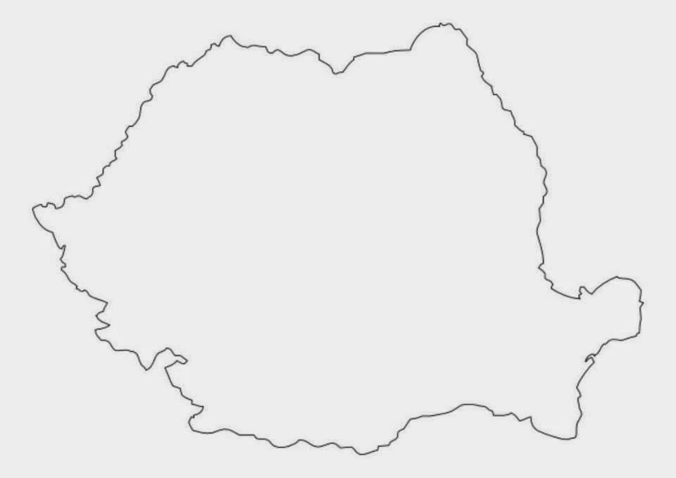 Harta Harta Romaniei Desen