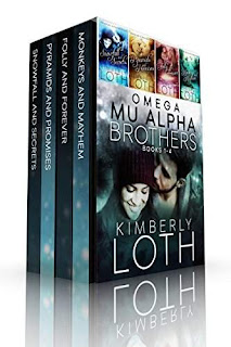 Omega Mu Alpha Box Set-Books 1-4, 4 swoon-worthy contemporary romance books by Kimberly Loth