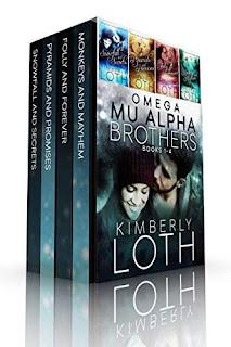 Omega Mu Alpha Box Set-Books 1-4, 4 swoon-worthy contemporary romance books by Kimberly Loth