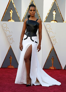 kerry washington oscar kirmizi hali