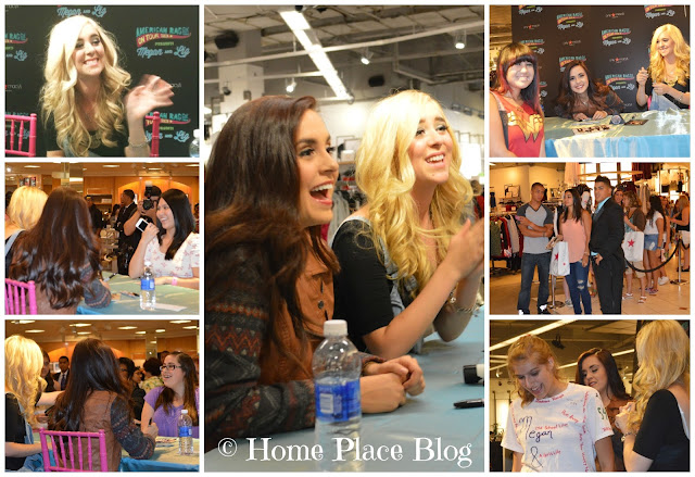 Megan and Liz Meet and Greet Session at Macy's Paramus New Jersey