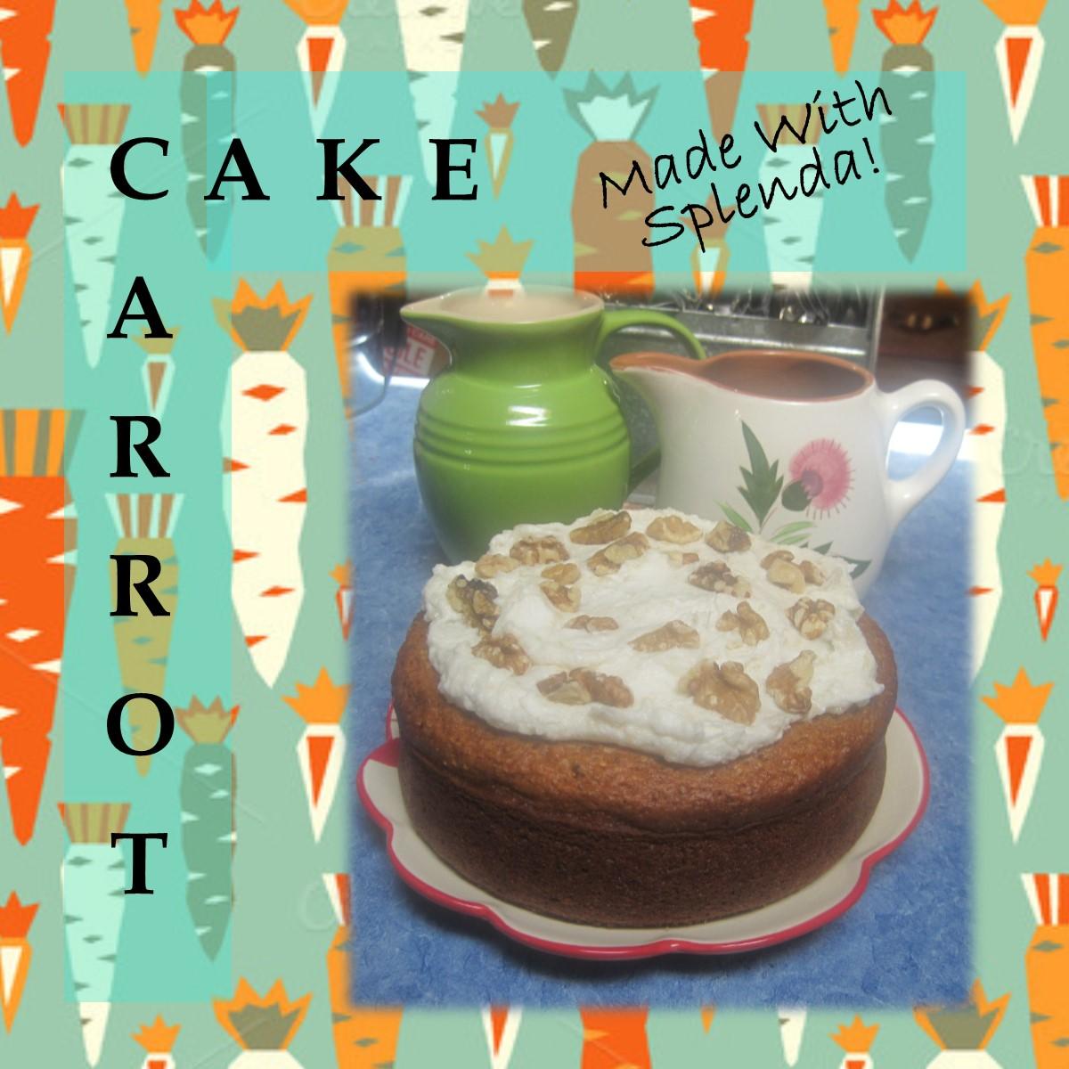 Carrot Cake Made With Splenda