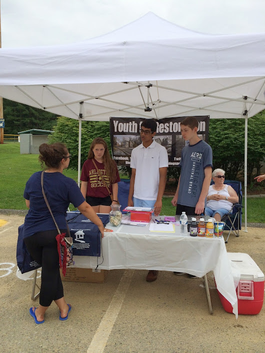 Youth for Restoration at Beekman Community Day on July 19