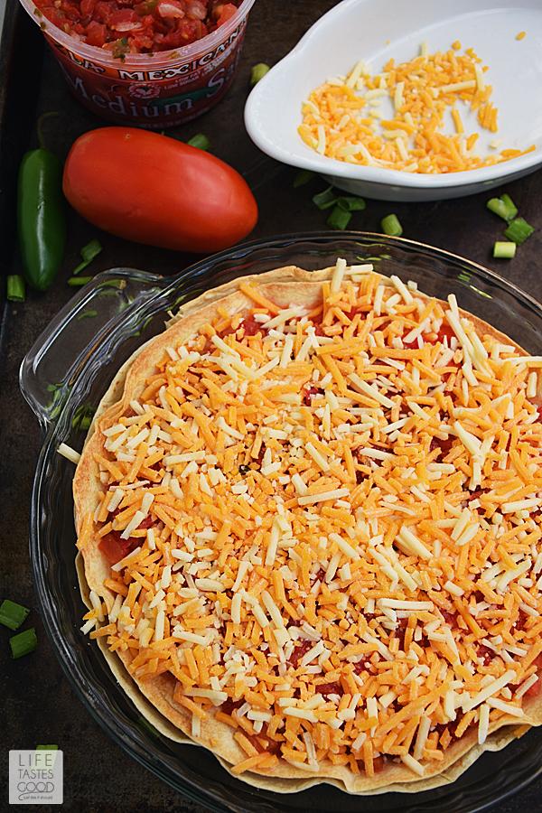 Easy Taco Pie Recipe | by Life Tastes Good