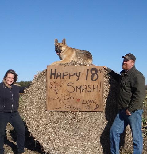 .: HAPPY 18TH BIRTHDAY SMASHY