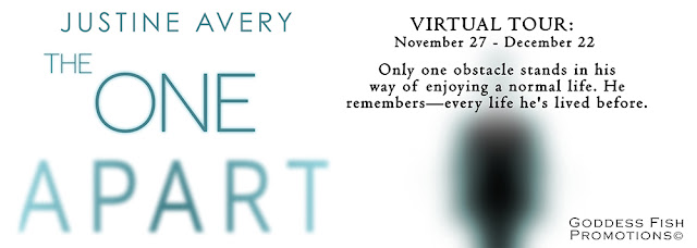 Interview & Giveaway with Justine Avery, author of  THE ONE APART