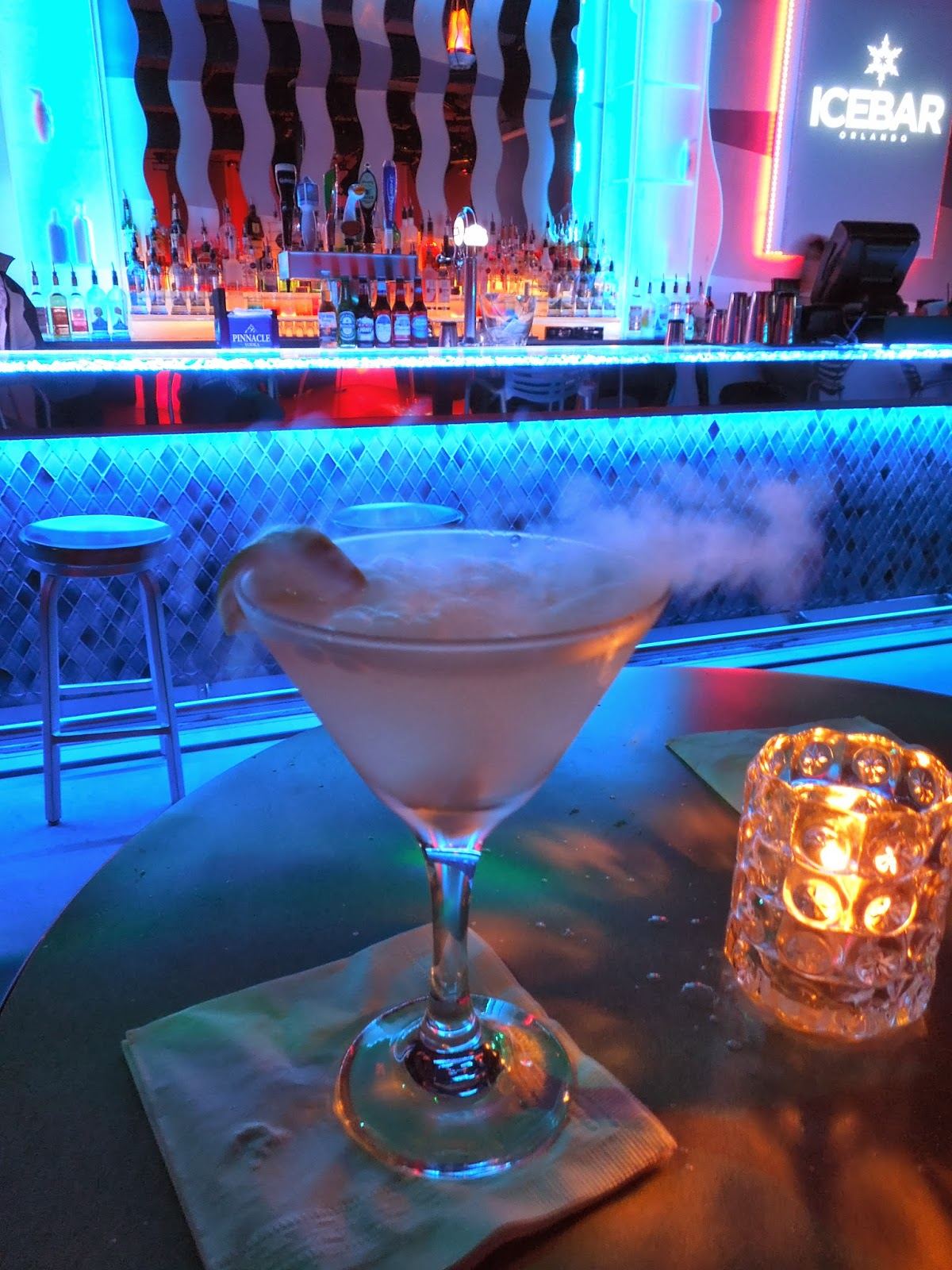 Fire Lounge martini