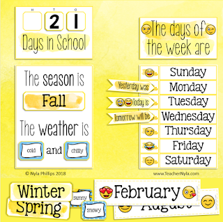 class calendar and weather chart editable