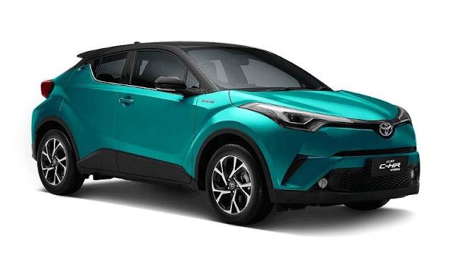 Toyota CHR Hybrid Indonesia Green