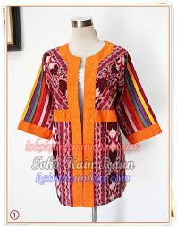 Model Baju Tenun Dari Tenun Ikat Blanket