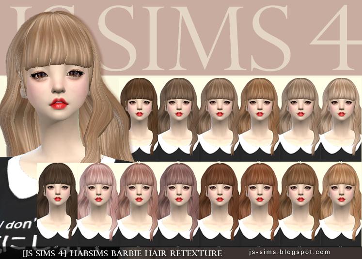 Newsea sims 4 hair retextures