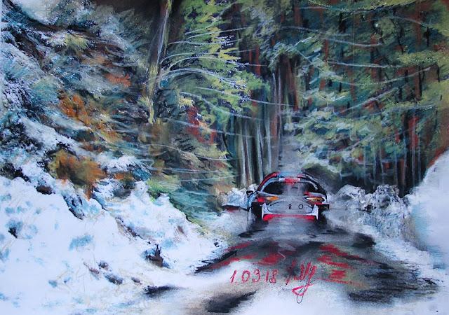 Rally racing picture by Taisiya Lavrova