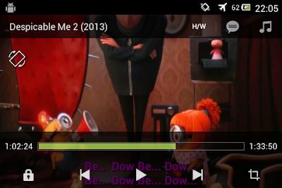 Cara Menonton Film Dengan Subtitle di Android