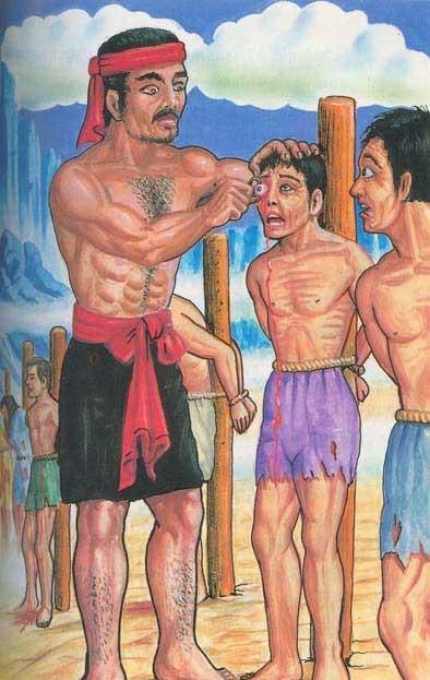 Andhatamtrsam(Flogging)
