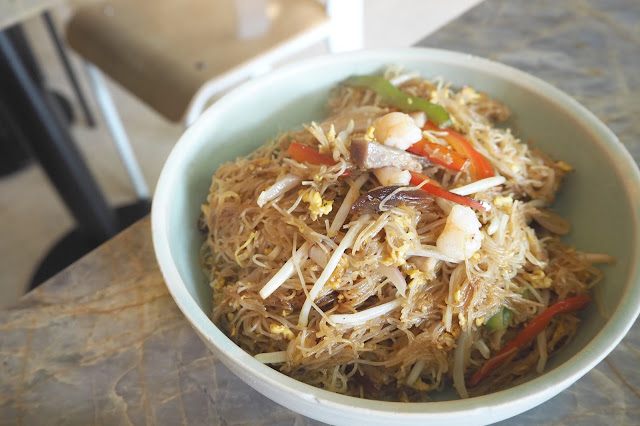 Full of Luck Club HK-style Singapore Fried Vermicelli