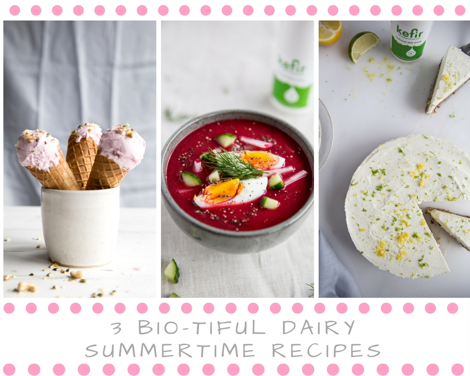 3 Bio-tiful Dairy Summertime Recipes
