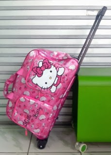 5b576292af CosmoBunda  HK (HELLO KITTY) TROLLEY MOTIF PINK STRAWBERRY LOVE