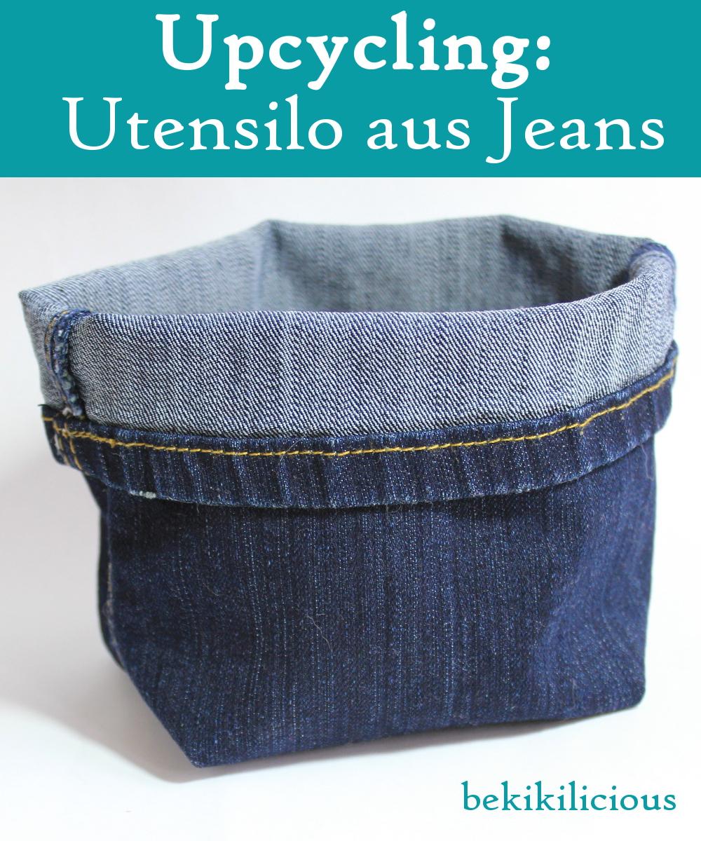 bekikilicious upcycling wie du dir aus einer alten jeanshose ganz einfach einen kleinen jeans. Black Bedroom Furniture Sets. Home Design Ideas