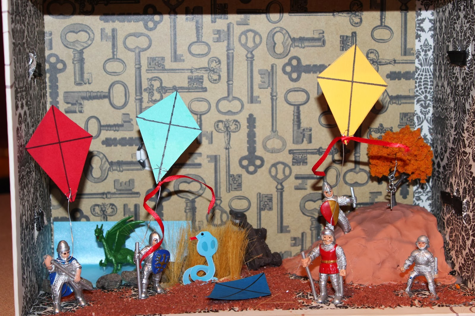 english 11 honours 2013 14 2014 for my creative project i decided to create a symbolic diorama of a crucial scene in the kite runner the scene i chose was the day of the kite fighting