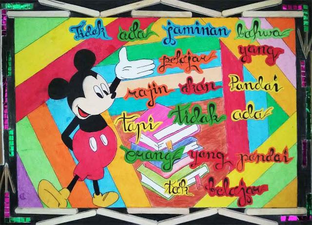 15 Contoh Poster Pendidikan Menarik dan Mudah Digambar ...