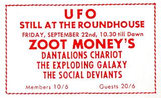 Dantalians gig ad UFO