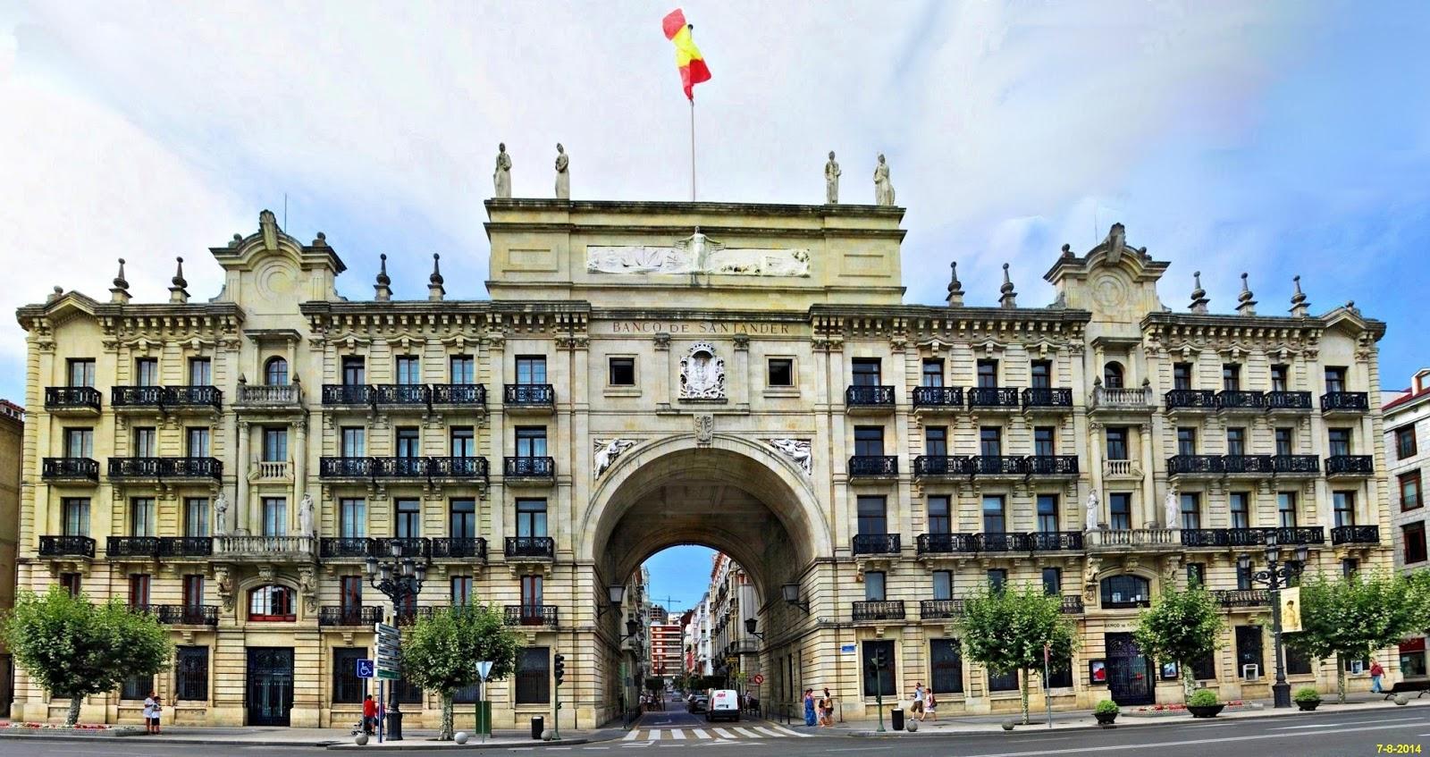 coronel von rohaut dos varas de medir ForBanco Santander Oficina Central Madrid