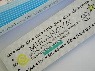 A pílula miranova® e o acne