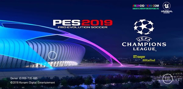 PES 2019 PRO.3.1.3 UCL UPDATE Patch Mod (NO ROOT) OBB Download