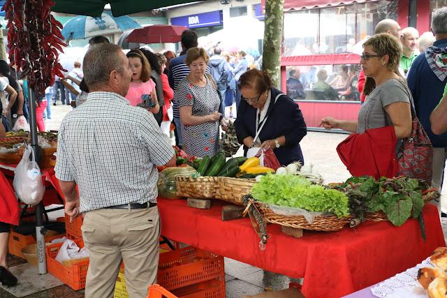 Feria agrícola de las fiestas de Retuerto en 2017