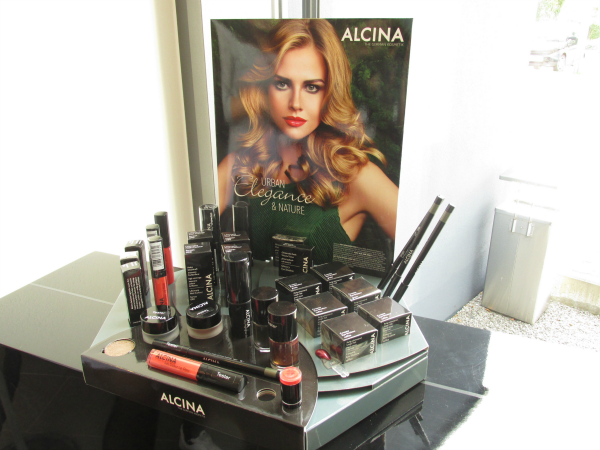 ALCINA Blogger Event Urban Elegance & Nature Makeup Herbst