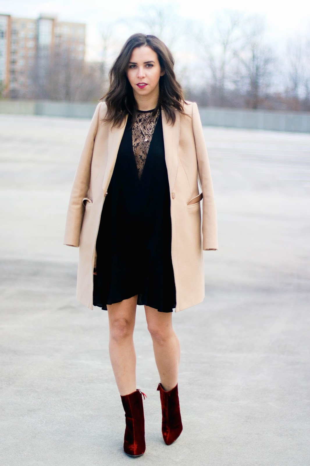 little black dress for valentines day