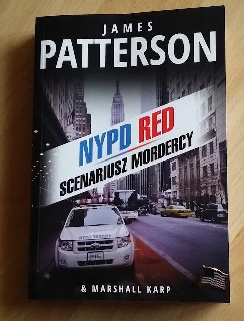 """Dont't text back! Recenzja powieści """"Scenariusz mordercy"""" Jamesa Pattersona. NYPD RED część 1."""