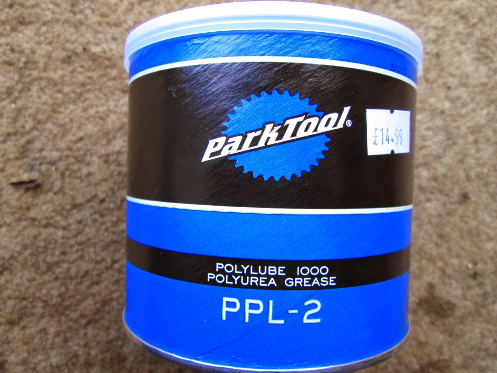 Muddy Brown's Blog: Fresh Goods Sunday - Park Tool PPL-2 Poly Lube